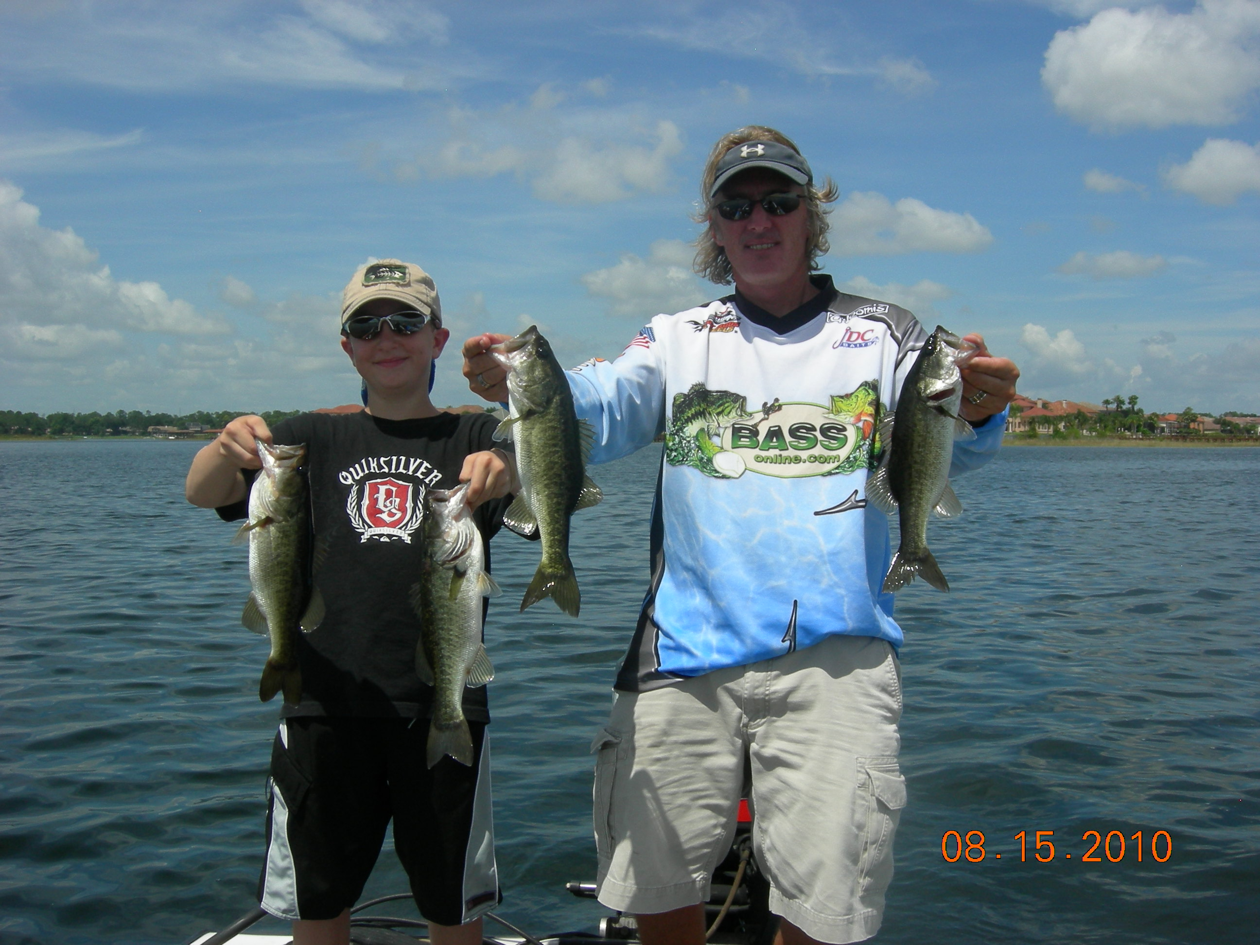 Private lakes orlando bass fishing guide for Bass fishing orlando