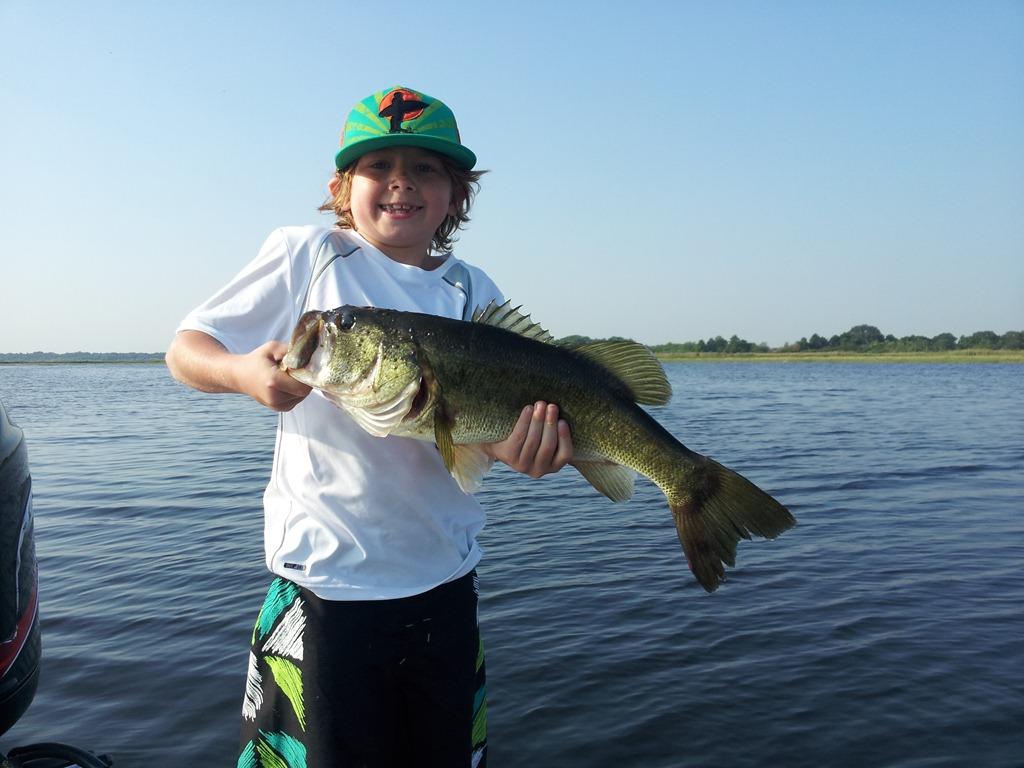 Bass fishing report for orlando florida orlando bass for Florida bass fishing guides