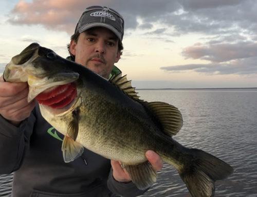 Couple Florida Fishing Trip on Lake Toho in Kissimmee